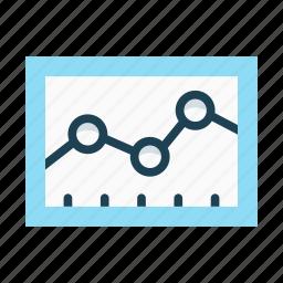 analysis, chart, economic, graph, research, statistics, summary icon