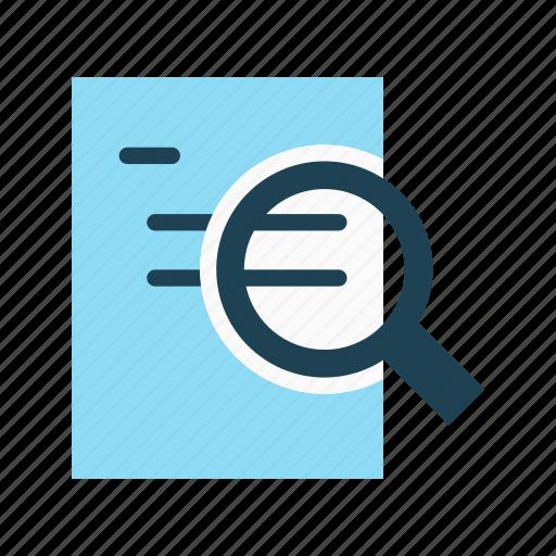 annual report, article, case study, publication, report icon
