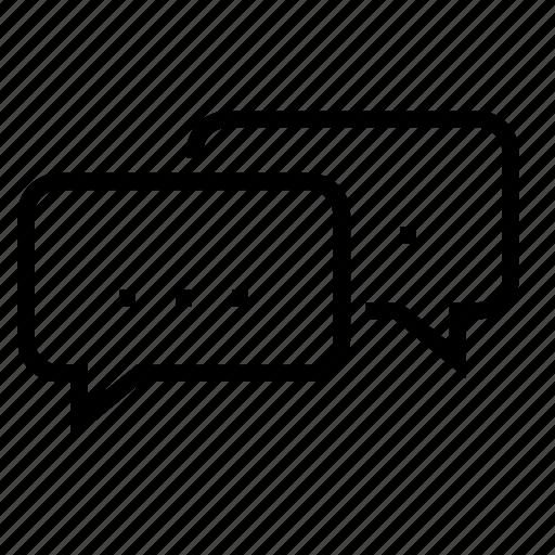 chat, comment, commenter, conversation, email, forum, message icon
