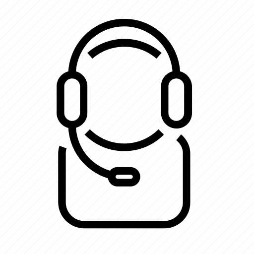call, customer, operator, phone, service icon