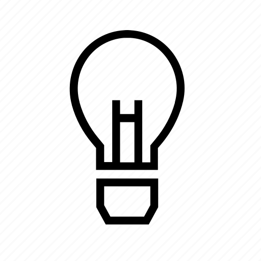 bulb, idea, inovation, light icon