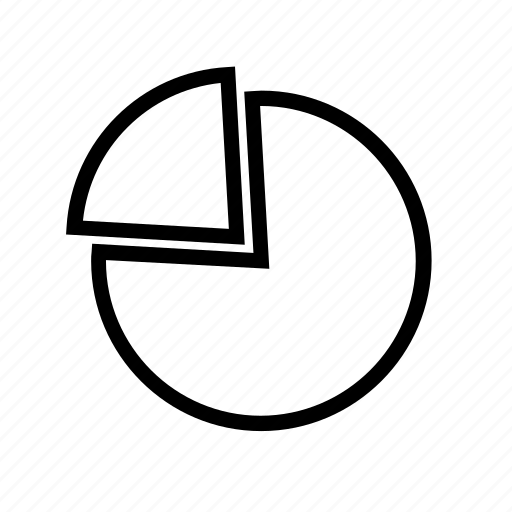 chart, diagram, pie, statistics icon