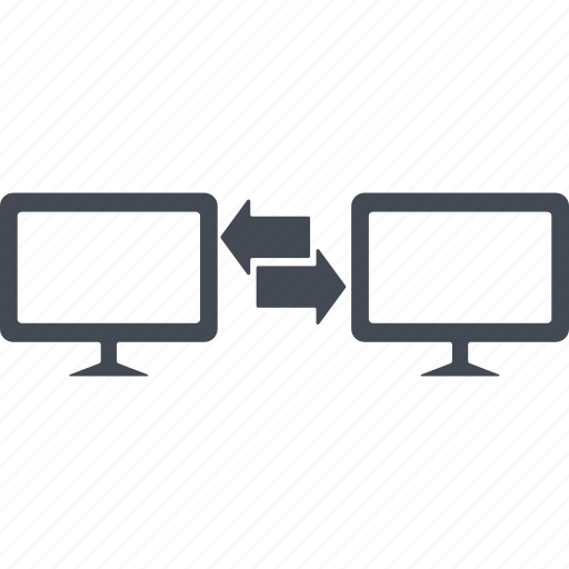 business comunications, computer, monitor, monitors icon