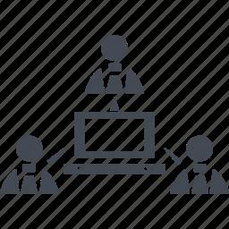 business comunications, communication, connection, conversation, talk icon