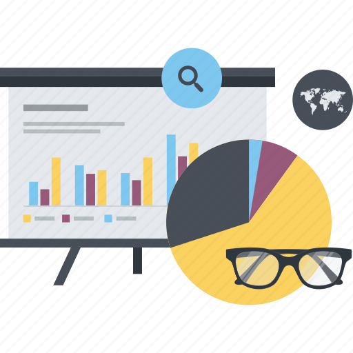 analysis, business, conceptual, plan, statistics, strategy icon