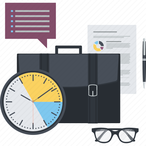 business, conceptual, flat design, management, marketing, office, project icon