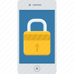 key, lock, mobile, passcode, password, security, smartphone icon