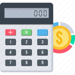 accountant, accounting, amount, calculate, calculating, calculation, calculator icon