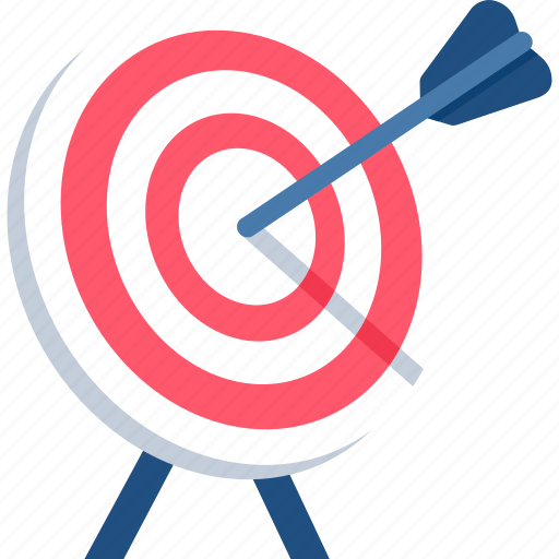 aim, business success, dartboard, goal, marketing, objective, target icon