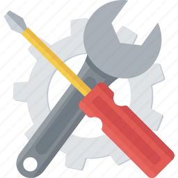 build, diy, handtool, project, screwdriver, settings icon