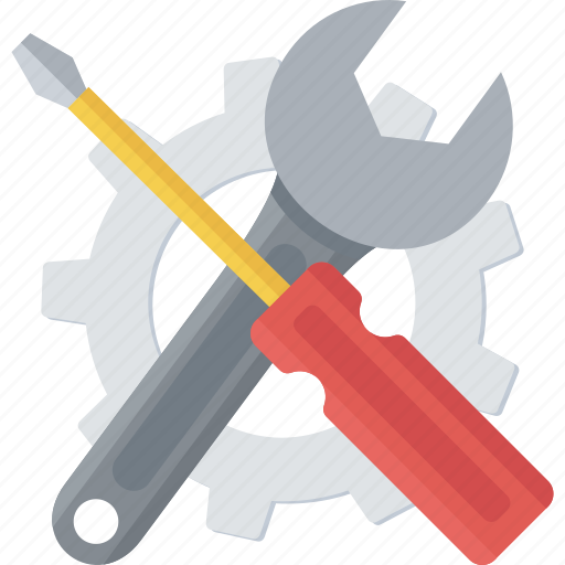 build, diy, handtool, project, screwdriver, settings icon