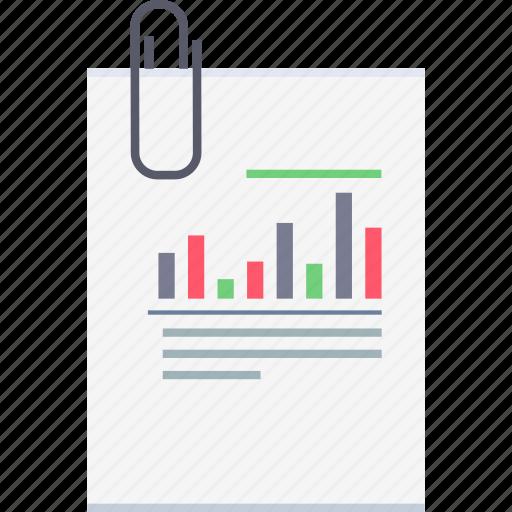 analytics, business, chart, diagram, office, statistics, work icon