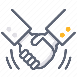 agreement, business, collaborate, join, joint, partner, shake hands icon