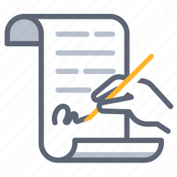 agreement, autograph, contract, deal, renew, sign, signature icon