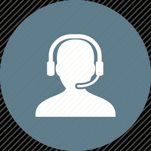 call, center, customer, operator, phone, service, support icon