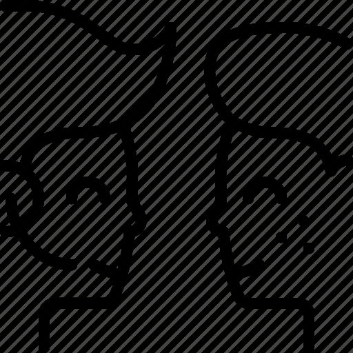 customer, service, support, talk icon