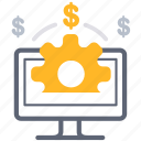 business, development, money, online, payment, working icon
