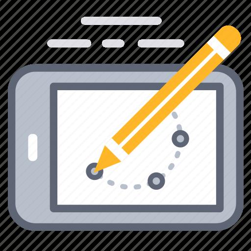 business, design, development, plan, process, tablet icon