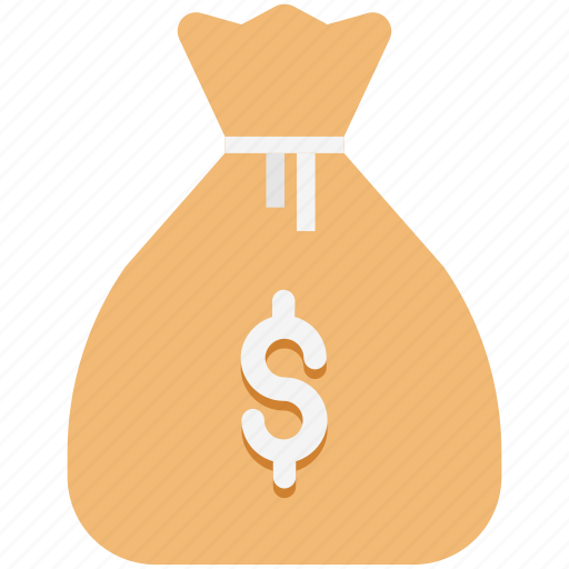 Cash, coins sack, currency sack, money, money bag, money sack, wealth icon - Download on Iconfinder