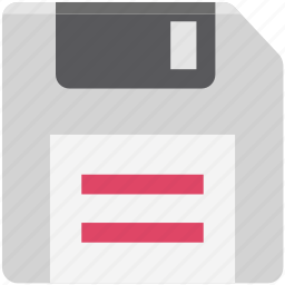 digital storage, diskette, floppy, floppy disk, floppy drive, multimedia, storage device icon