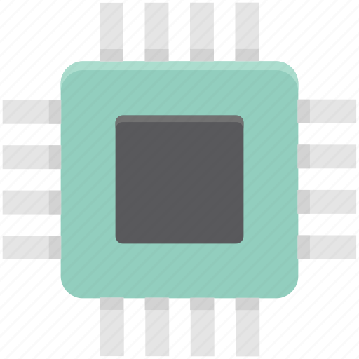 circuit, computer chip, integrated circuit, memory chip, microprocessor, motherboard, processor chip icon