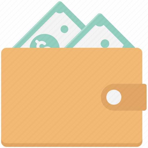 billfold wallet, cash wallet, money wallet, purse, saving, wallet icon