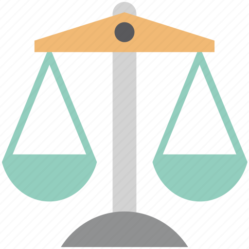 balance scale, equality, judgment, justice, justice balance, law symbol, scale icon