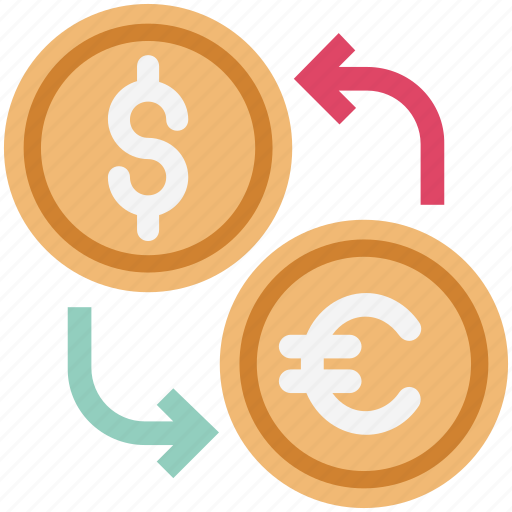 currency, currency exchange, euro exchange, foreign exchange, money exchange, wealth icon
