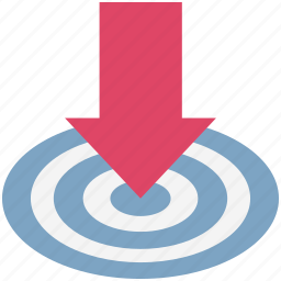 arrow direction, arrow indication, arrow pointing, down arrow, download icon