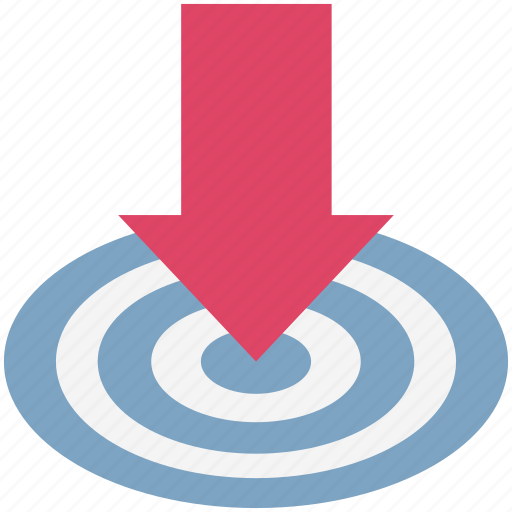 Arrow direction, arrow indication, arrow pointing, down arrow, download icon - Download on Iconfinder