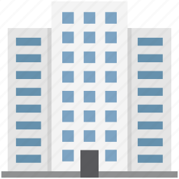 apartments, building, city building, commercial, flats, real estate, skyscraper icon