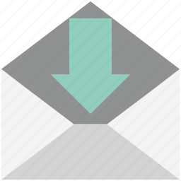 email, envelope, inbox, letter, mail, mail message, message icon