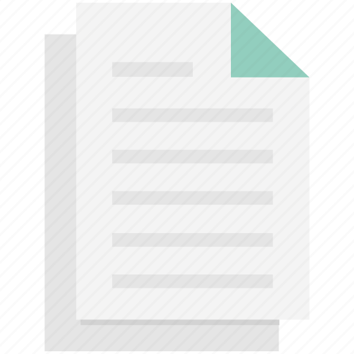 contract, document, note, paper, sheet, text document, text sheet icon