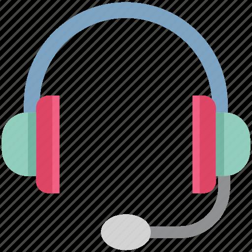 earbuds, earphones, earspeakers, gadget, handsfree, headphone, microphone icon