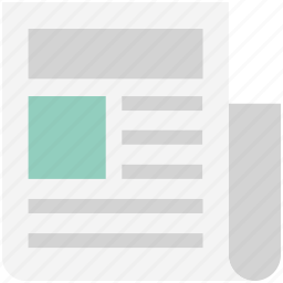classified, classified news, classified paper, newspaper, print media icon