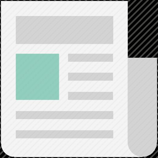 Classified, classified news, classified paper, newspaper, print media icon - Download on Iconfinder