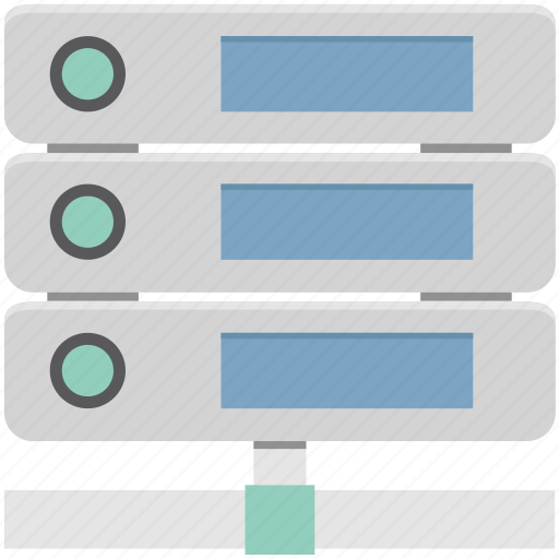 database, networking, server, server connection, web hosting icon