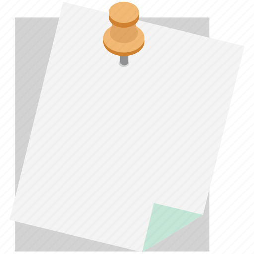 attach documents, attach file, attached file, pin, push pin, thumb pin icon