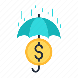 business, finance, founds, insurance, money, protection icon