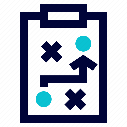 business, marketing, planning, strategy, tactics icon