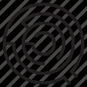 business, concept, design, elements, infographic, maze icon