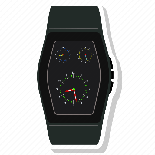 Clock, watch, handwatch, smartwatch, time icon