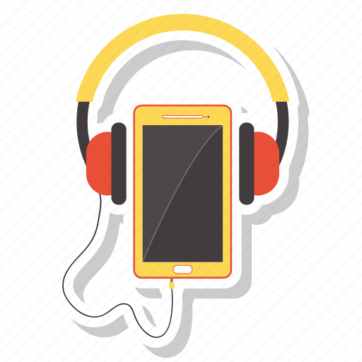 Communication, headphone, listening, mobile icon - Download on Iconfinder