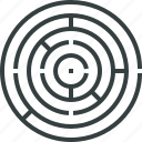 business, challenge, complexity, concept, exit, labyrinth, logic, maze icon