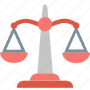 scales, justice, balance, law, precision, judge, lawyer icon