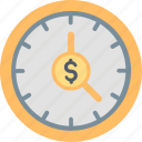is, money, time, business, clock, finance, management icon