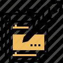 memo, message, note, notice, reminder icon
