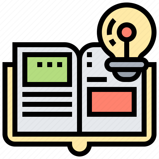 book, information, knowledge, literature, reading icon
