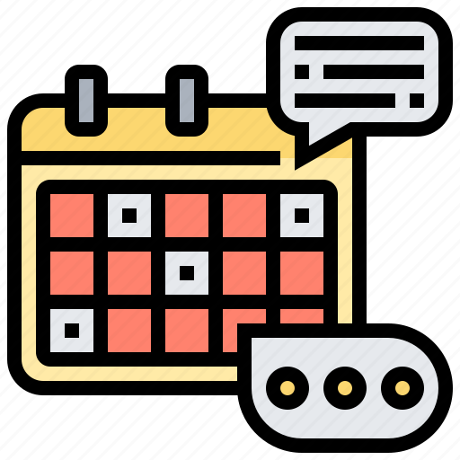 agenda, appointment, calendar, event, schedule icon