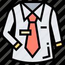 clothes, employee, shirt, suit, uniform icon
